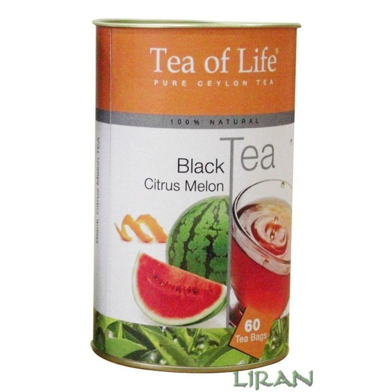 Black Tea Citrus Melon (90g)